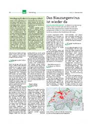 Blauzungenkrankheit Erste Fälle in Deutschland