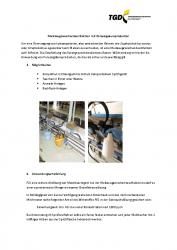 Melkzeugzwischendesinfektion mit Peressigsäureprodukten